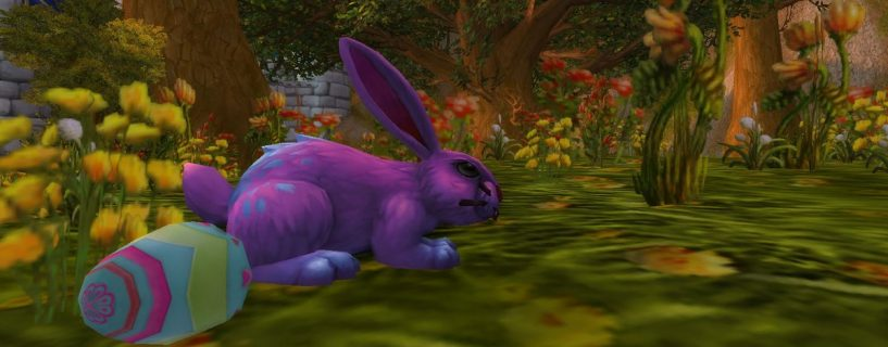 World of Warcraft Noblegarden Event Kicks Off With New Noblegarden Bunny Pet